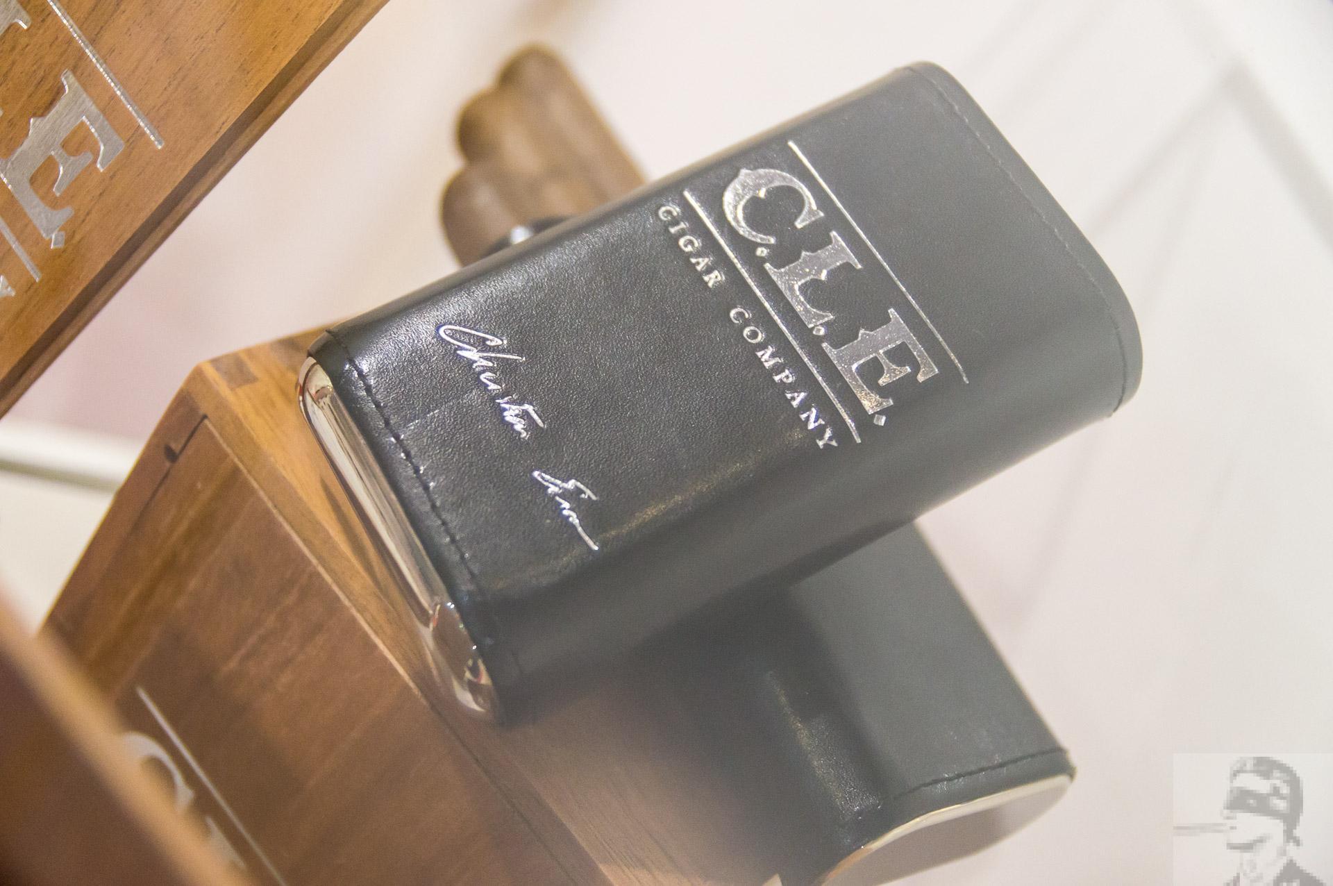 C.L.E. branded cigar cases