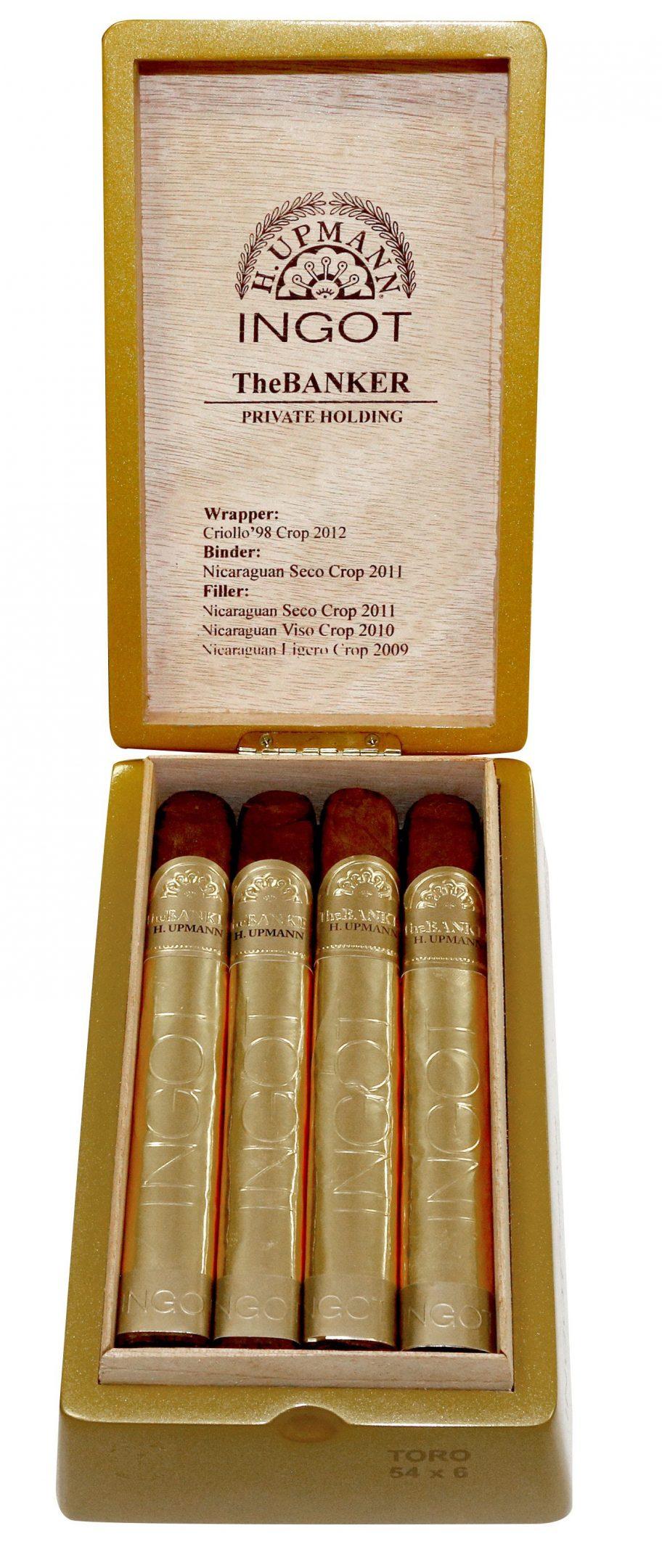 Cigar News: Altadis Announces Limited H. Upmann The Banker Private Holding Ingot