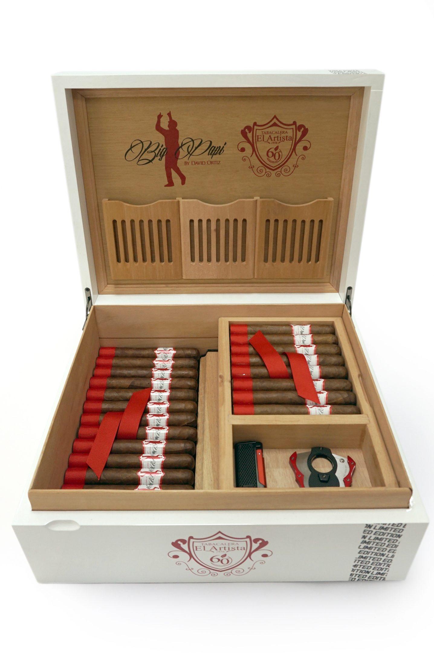 Cigar News: El Artista Unveils Big Papi Humidor