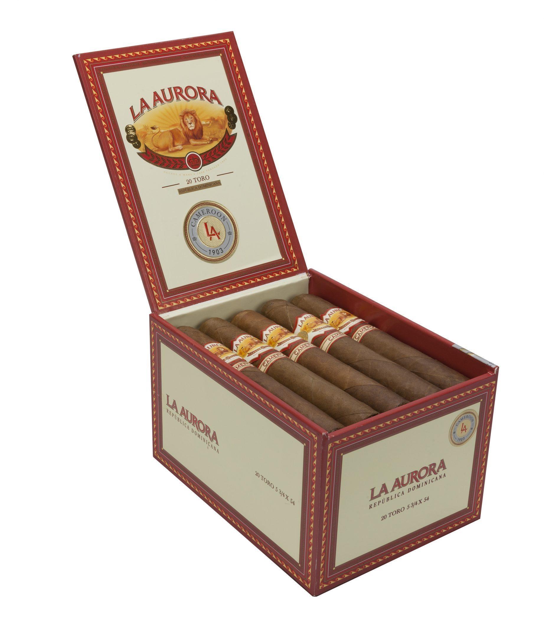 Cigar News: La Aurora Cameroon 1903 Shipping Now