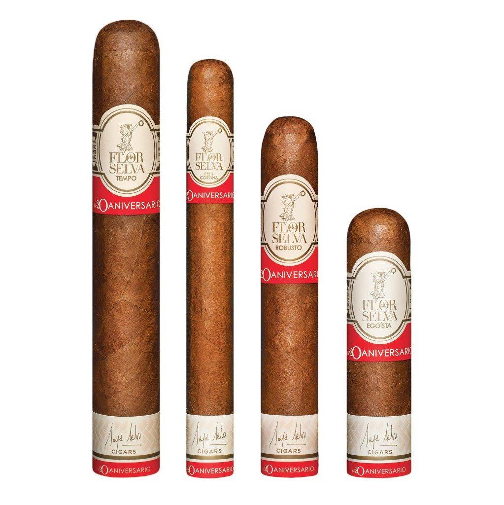 Cigar News: Maya Selva Announces Flor de Selva Colección Aniversario Nº20
