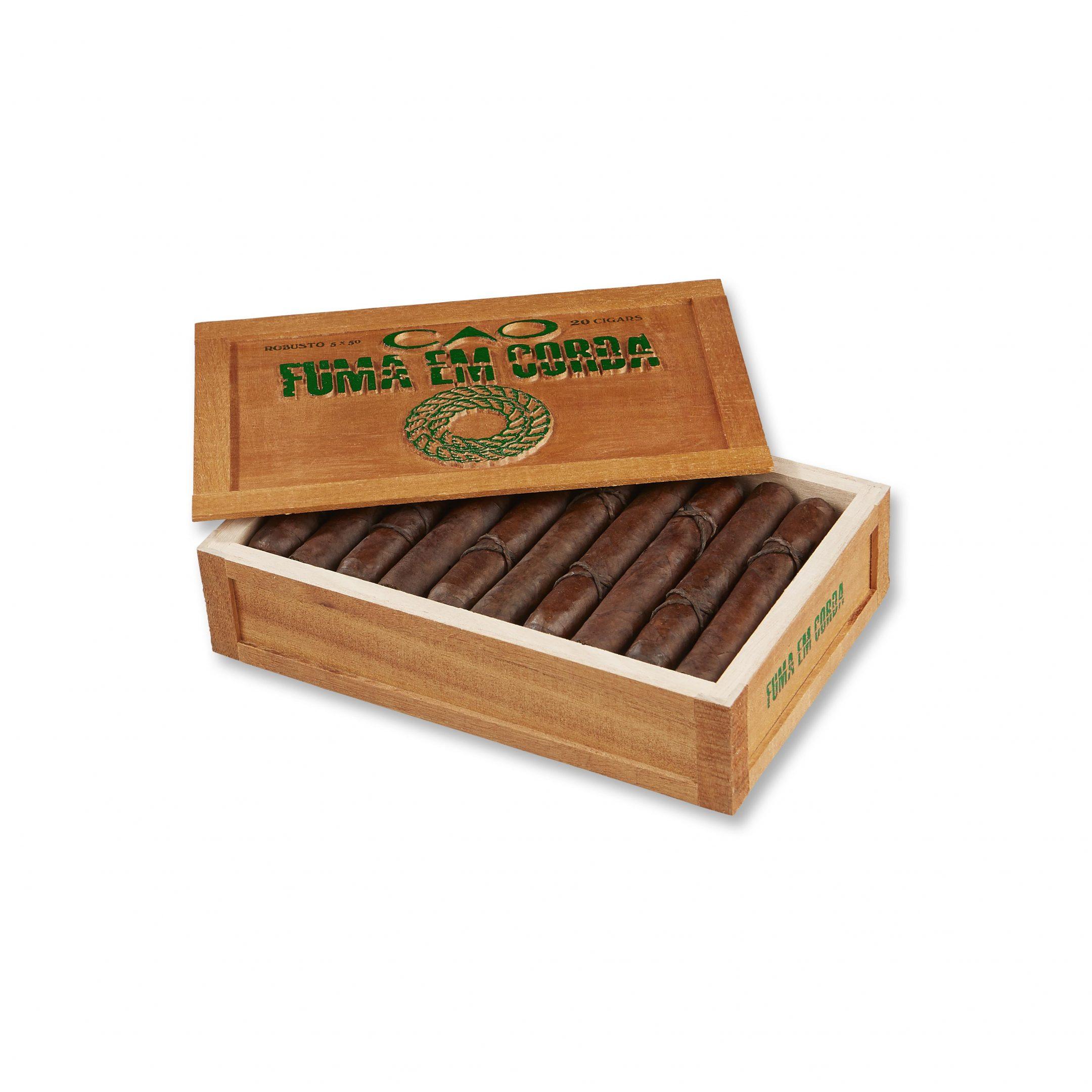 Cigar News: CAO Launches Fuma Em Corda