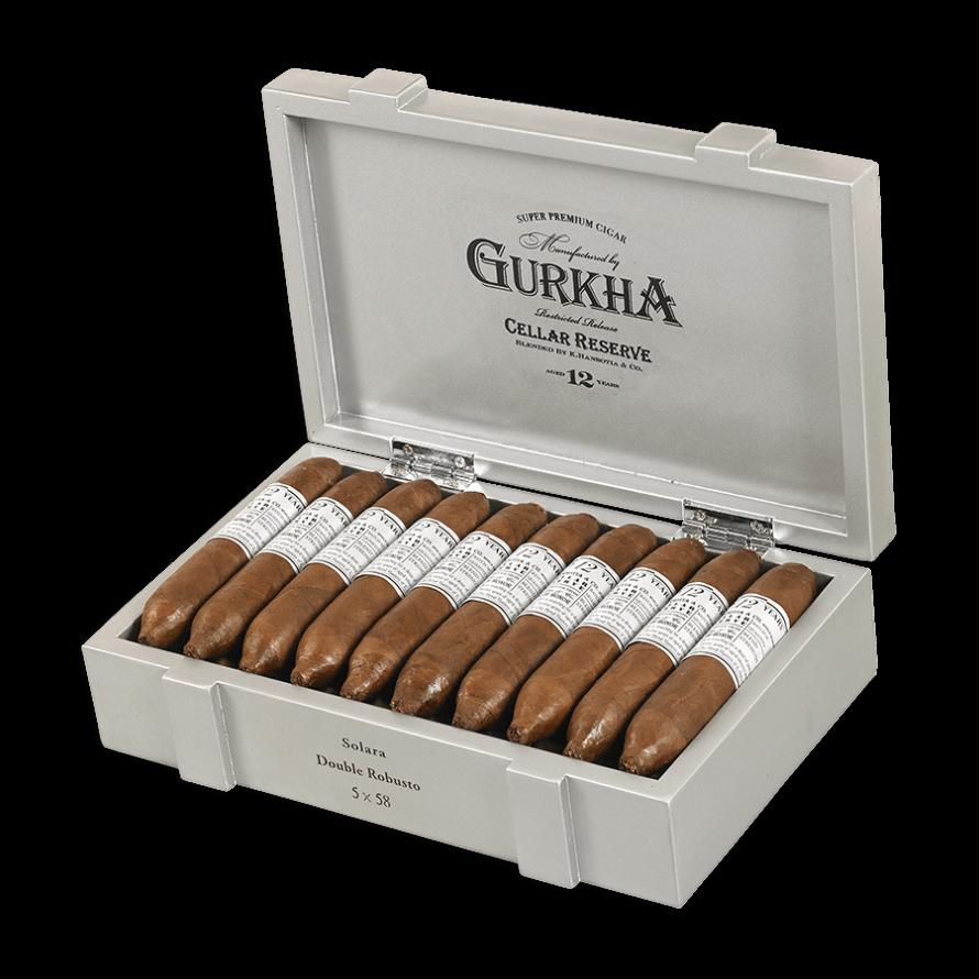 Blind Cigar Review: Gurkha | Cellar Reserve 12 Year Platinum Solara
