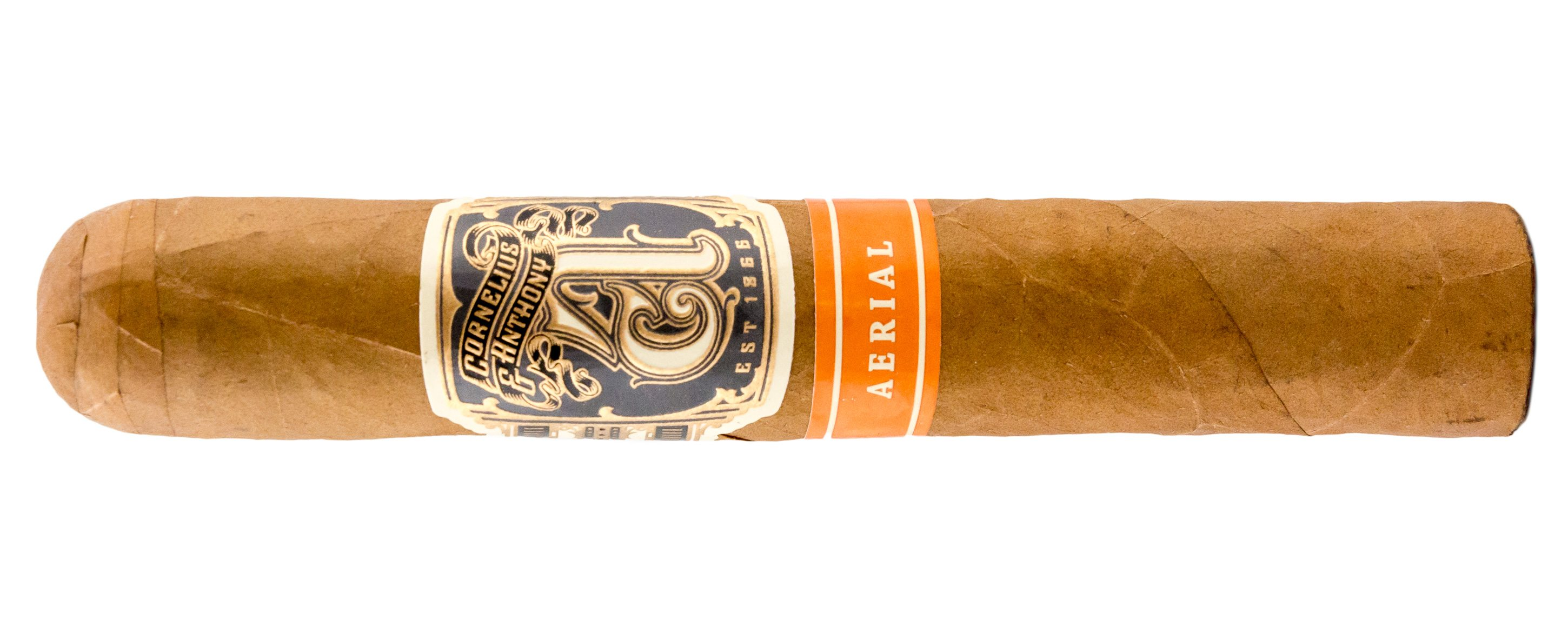 Blind Cigar Review: Cornelius and Anthony | Aerial Robusto