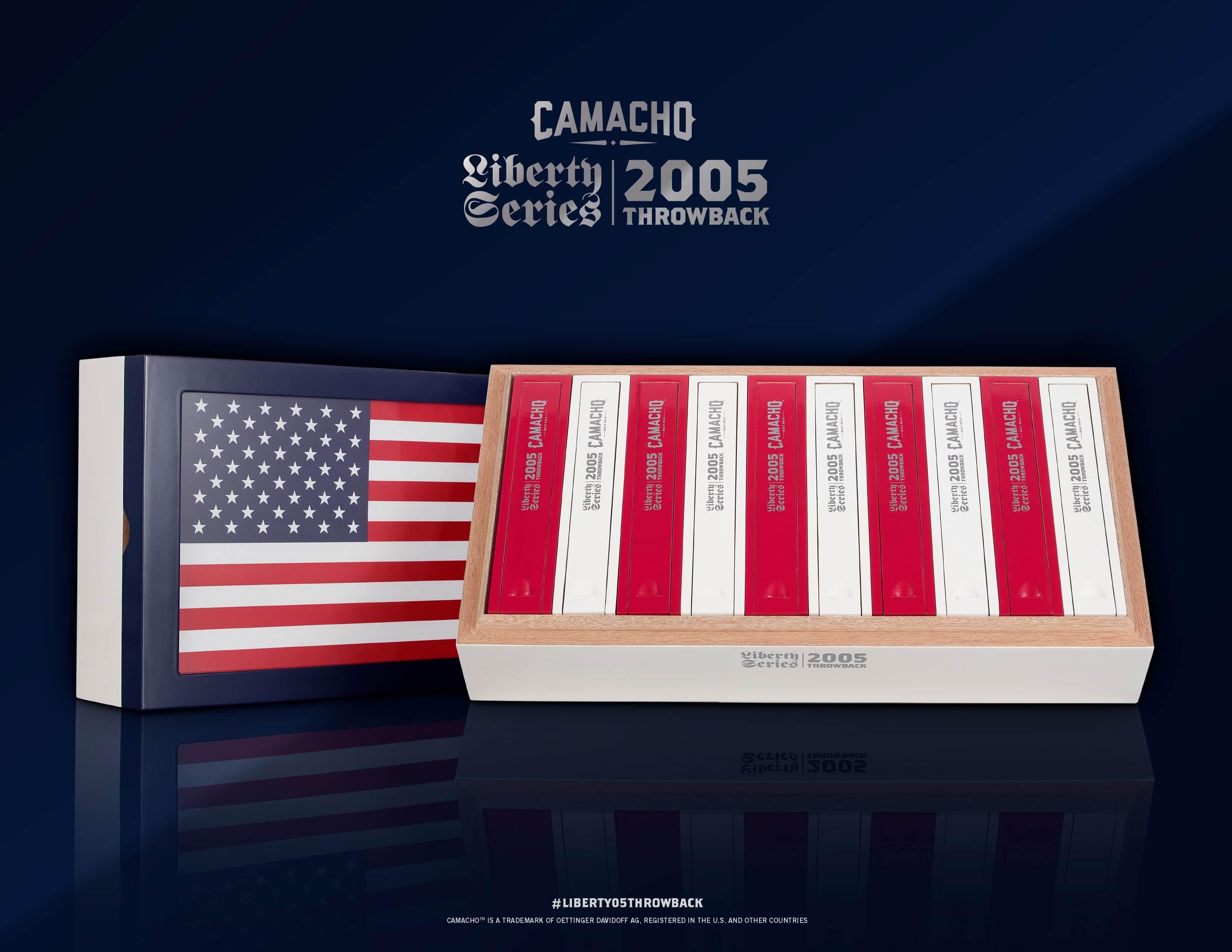 Cigar News: Camacho Announces Liberty Throwback 2005