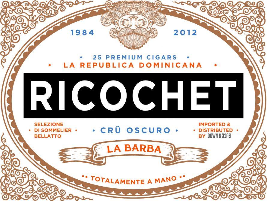 Cigar News: La Barba Renames Primitivo to Ricochet