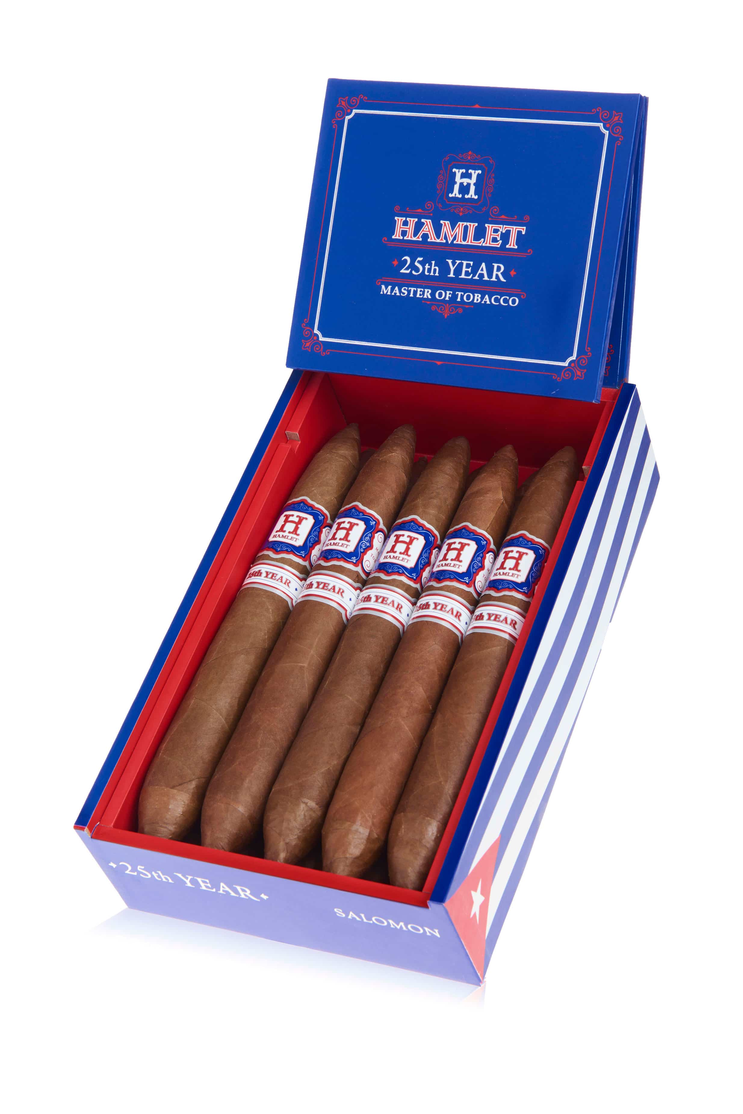 Cigar News: Rocky Patel Adds Hamlet 25th Year Salomon