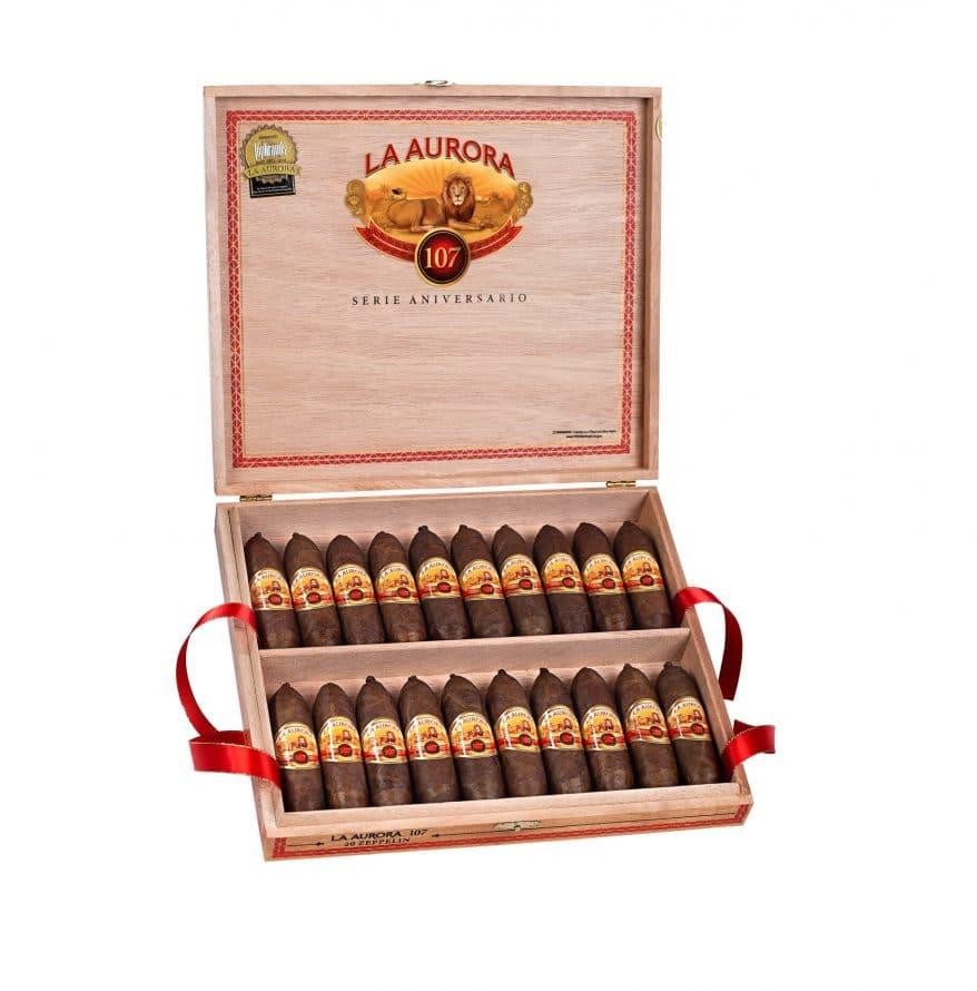 Cigar News: Miami Cigar & Company Announces La Aurora 107 Zeppelin