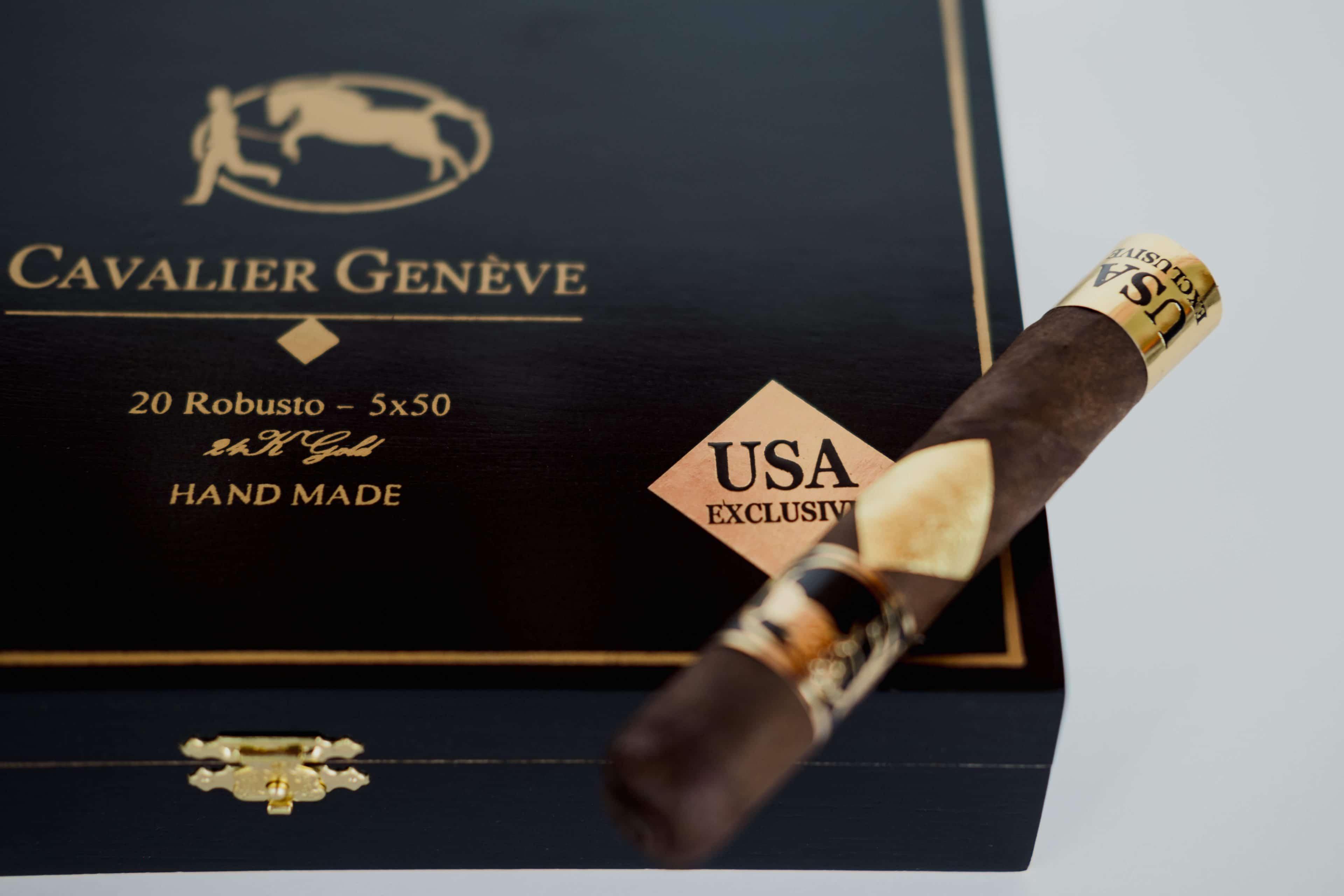 Cigar News: Cavalier Genève Updates Branding for Black Series USA Exclusive