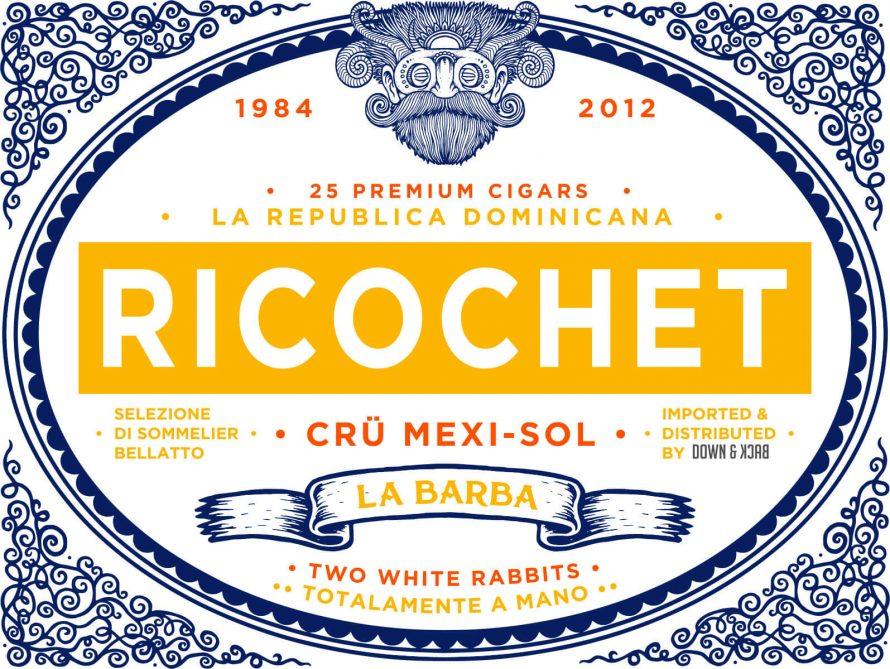 Cigar News: La Barba Announces Ricochet Cru Mexi-Sol