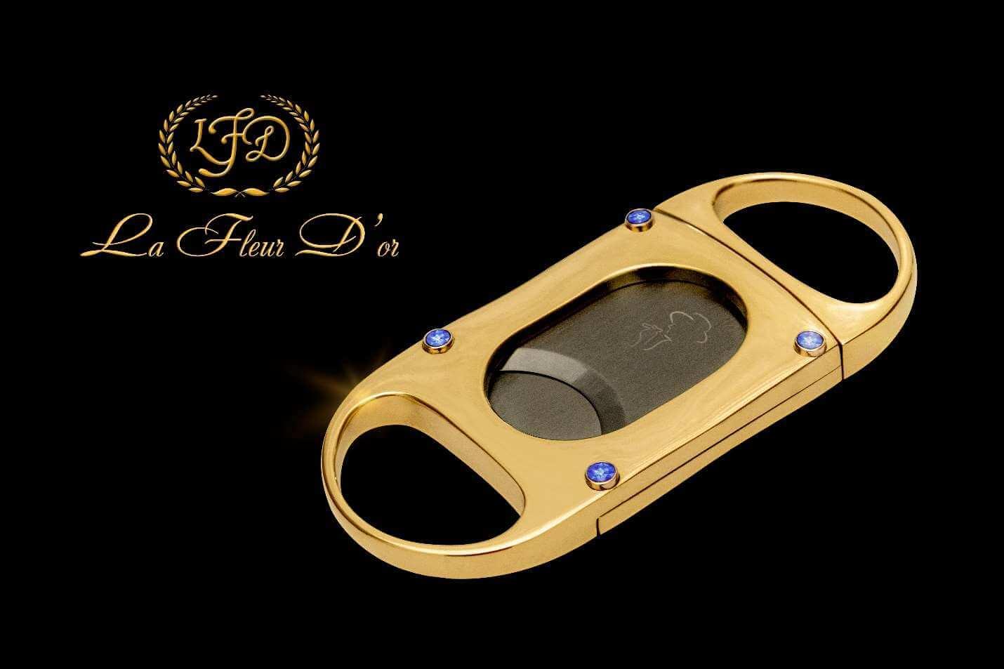Cigar News: La Flor Dominicana Announces La Fleur D'or Cigar Cutter