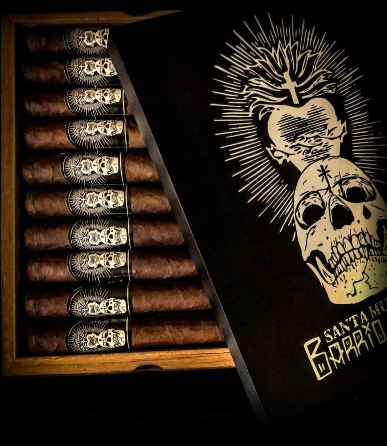 Cigar News: Black Label Trading Co. Announces Santa Muerte Barrio Santo