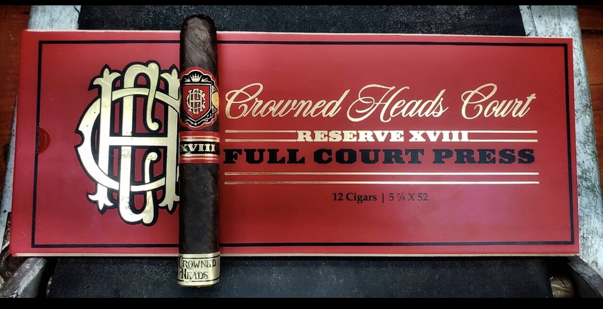 Cigar News: Crowned Heads Announces CHC Reserve XVIII Full Court Press
