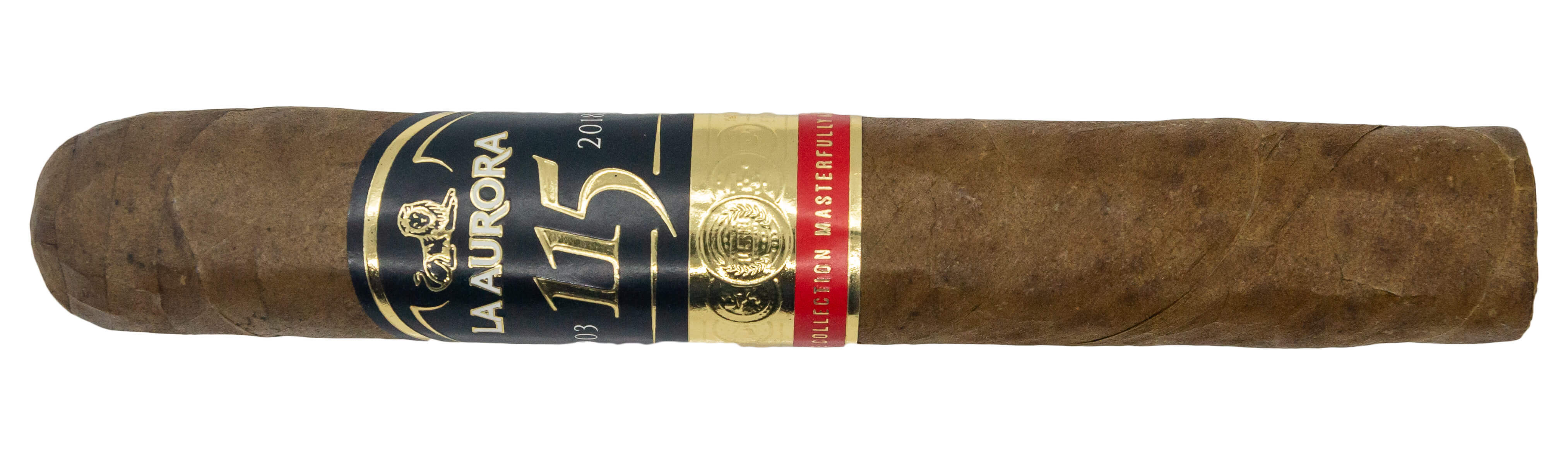 Blind Cigar Review: La Aurora | 115th Anniversary Robusto