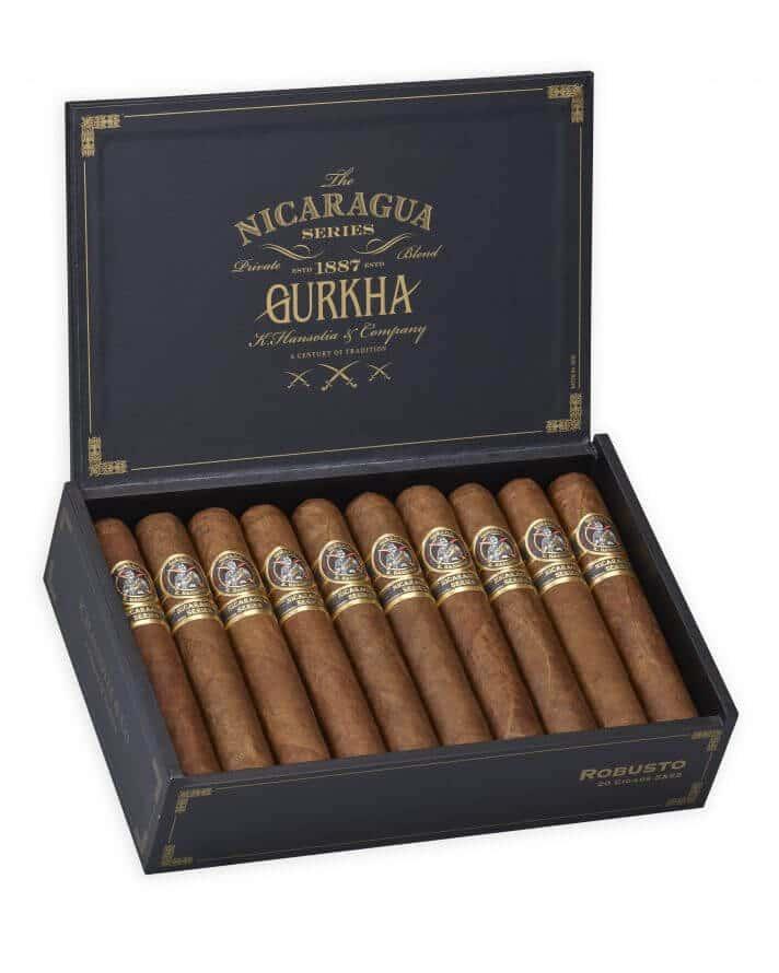 Cigar News: Gurkha Ships Nicaragua Series