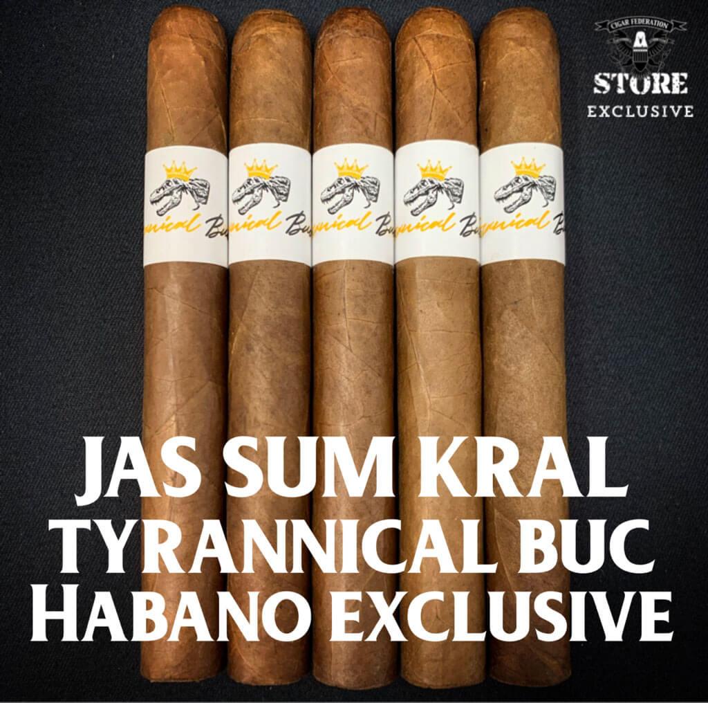 Cigar News: Jas Sum Kral Announces Tyrannical Buc Habano