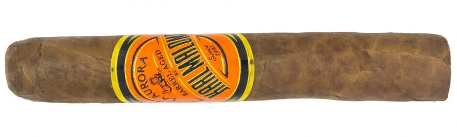 Blind Cigar Review: La Aurora | Barrel Aged by Karl Malone Robusto