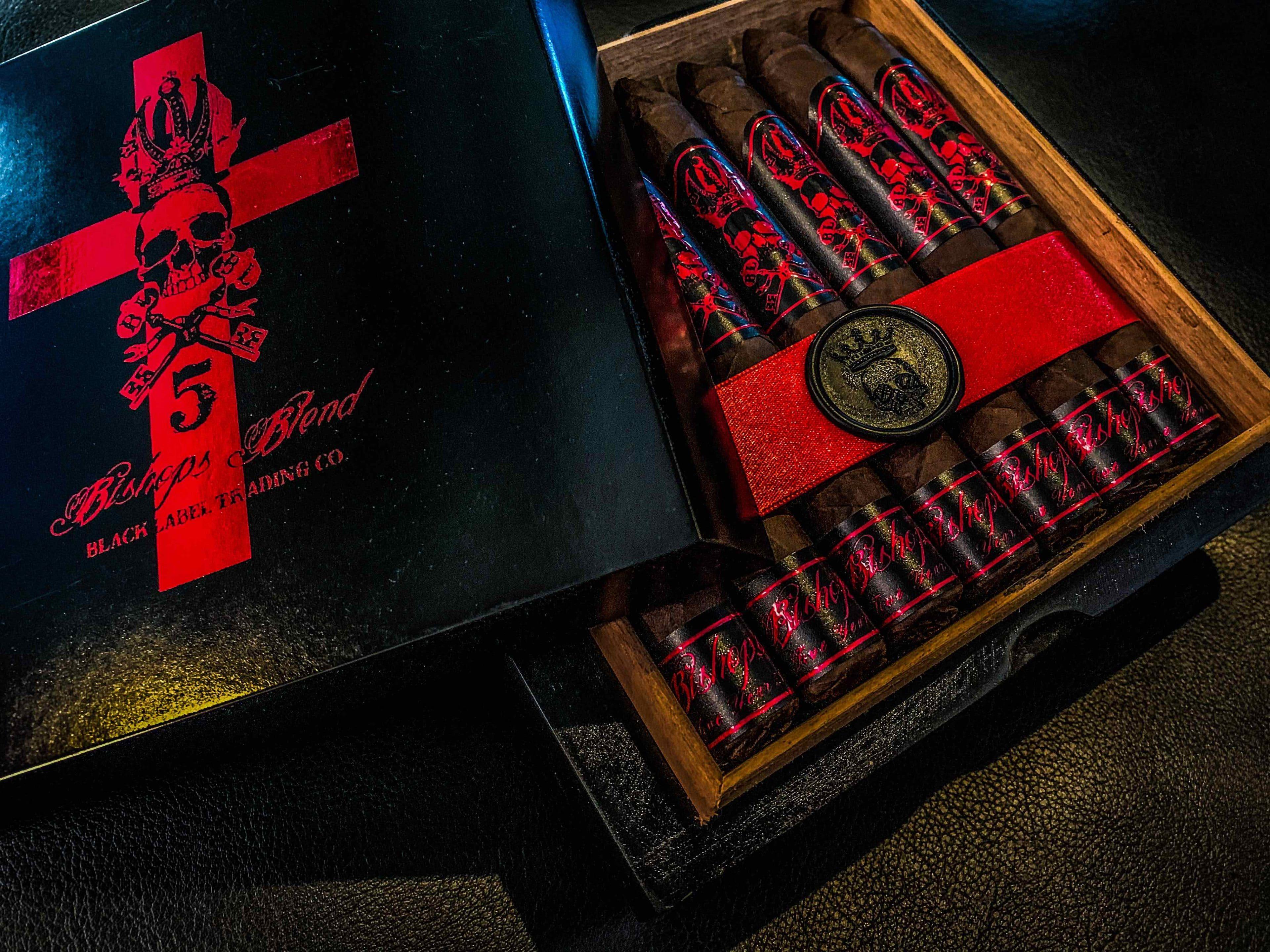 Cigar News: Black Label Trading Company Ships Bishops Blend 5 Year Anniversary