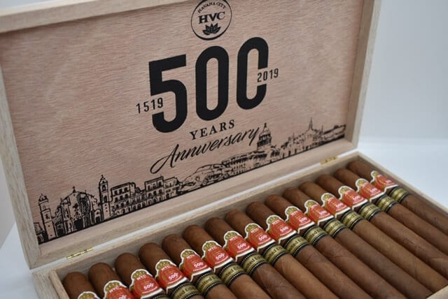 Cigar News: HVC Adds Two New Vitolas to 500th Anniversary