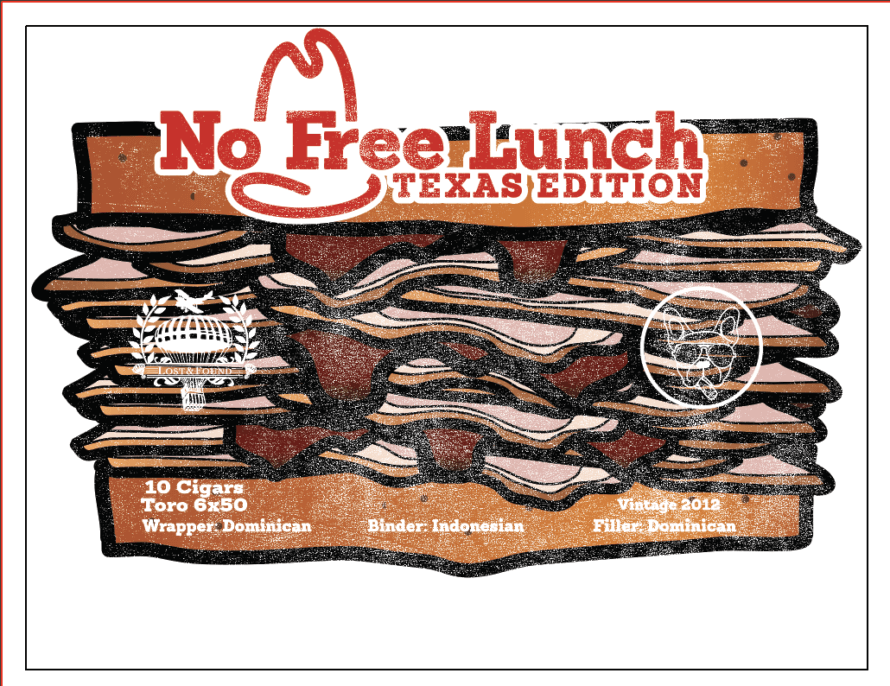 Cigar News: Lost & Found Announces No Free Lunch