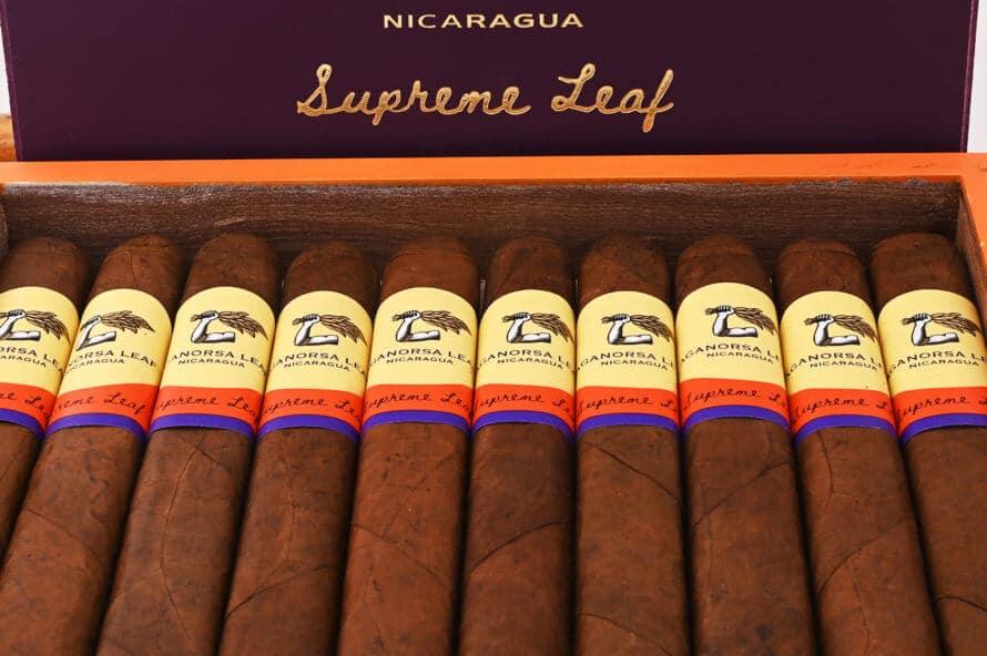 Cigar News: Aganorsa Leaf Adds Toro Size to Supreme Leaf
