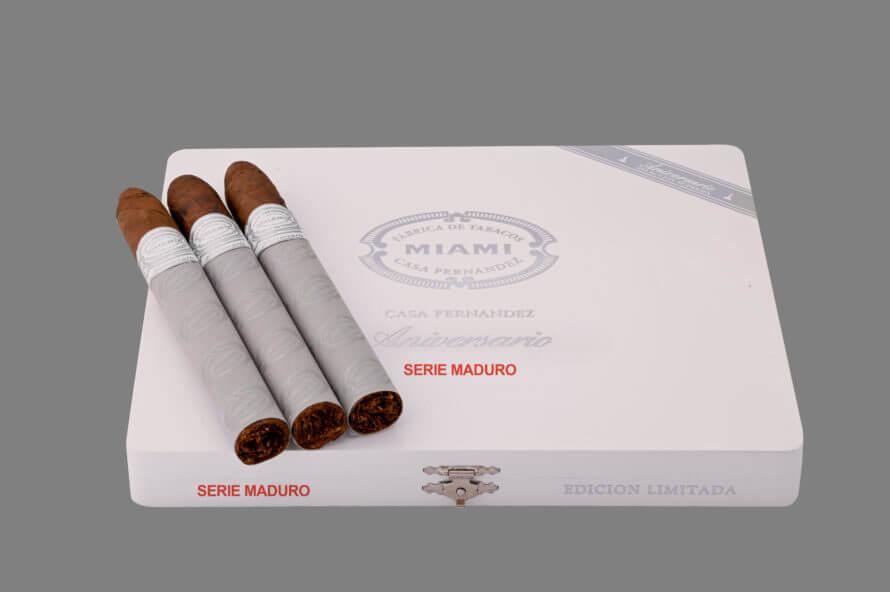 Cigar News: Aganorsa Leaf Announces Casa Fernandez Aniversario Cuban 109 Maduro