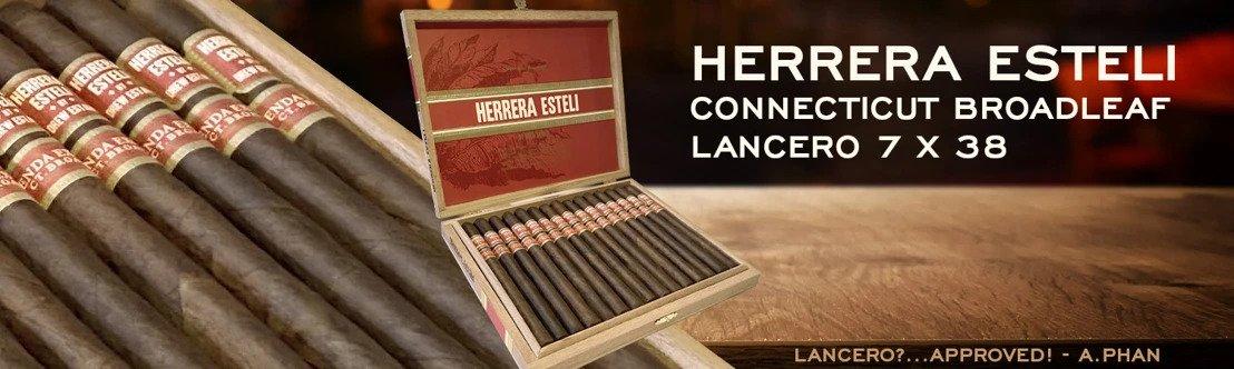 Cigar News: Drew Estate Releases Herrera Esteli Connecticut Broadleaf Lancero Nationally