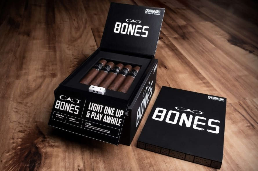 Cigar News: General Cigar Announces CAO Bones