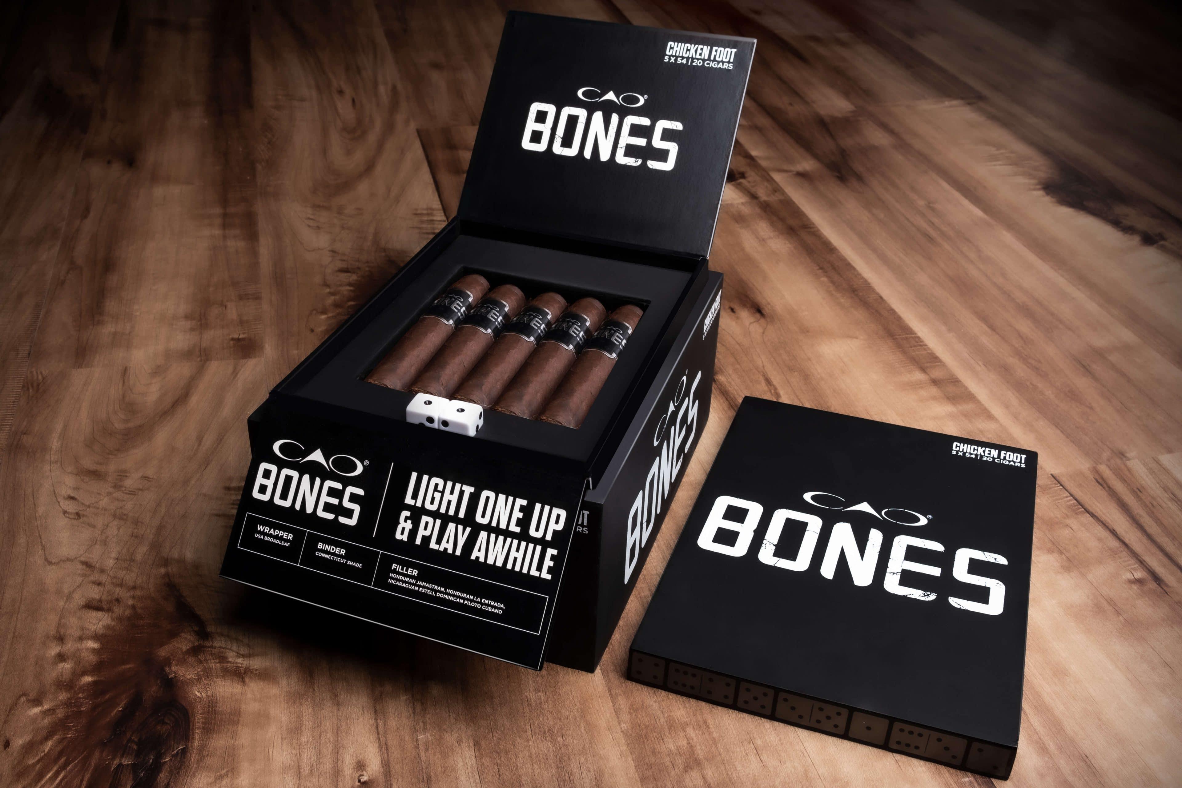 Cigar News: General Cigar Announces CAO Bones
