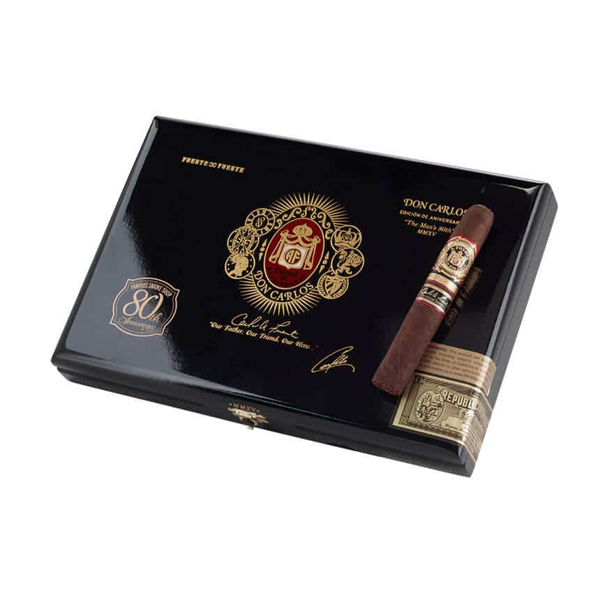 Cigar News: Famous Smoke Announces Don Carlos Personal Reserve 80th Anniversary Edition