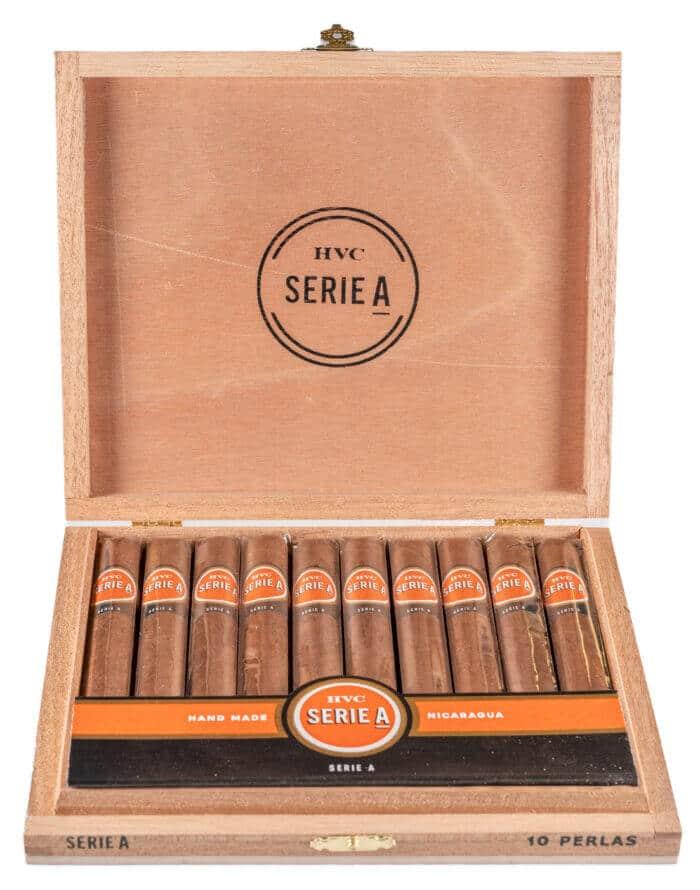 Blind Cigar Review: HVC   Serie A Perlas