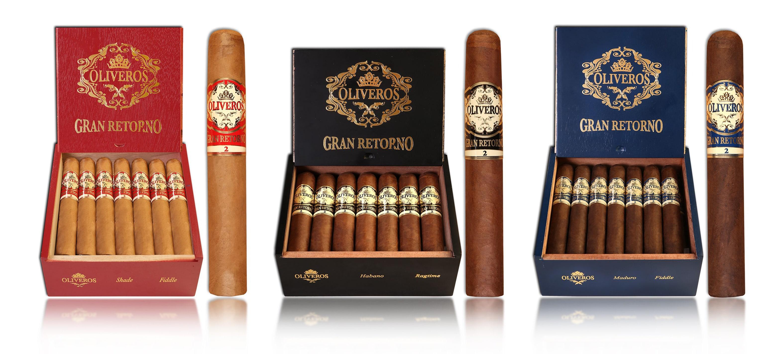 Cigar News: Altadis U.S.A. Brings Back Oliveros Gran Retorno