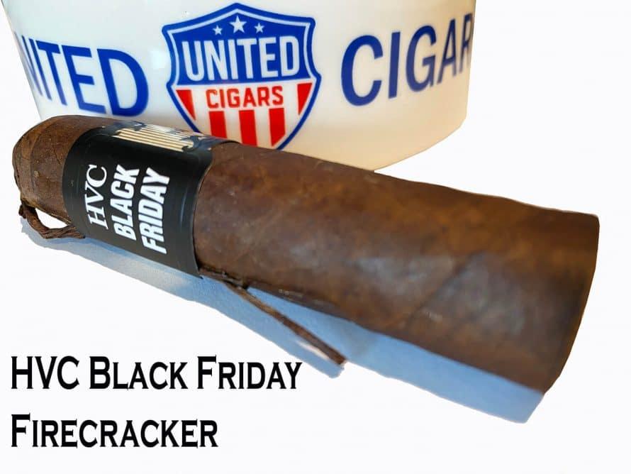 Cigar News: United Cigars Announces HVC Black Friday Firecracker