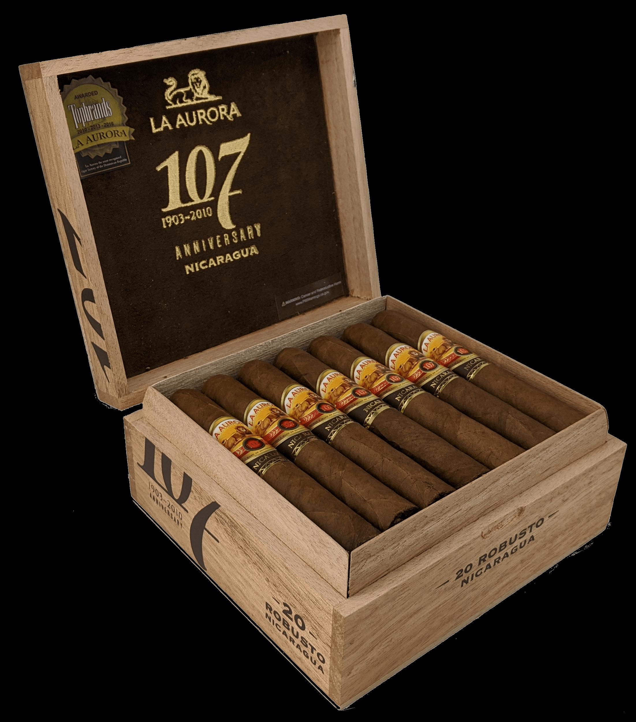 Cigar News: La Aurora Unveils 107 Nicaragua