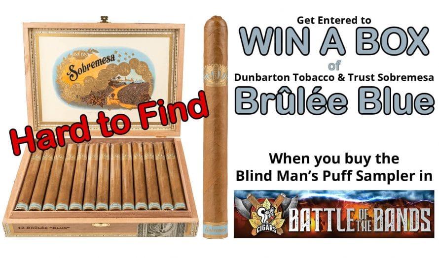 Contest: Win a Box of Sobremesa Brûlée Blue