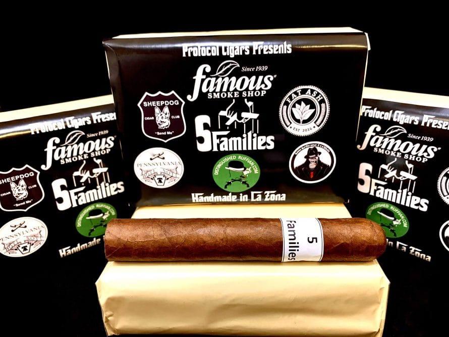 Cigar News: Protocol Announces 5 Families