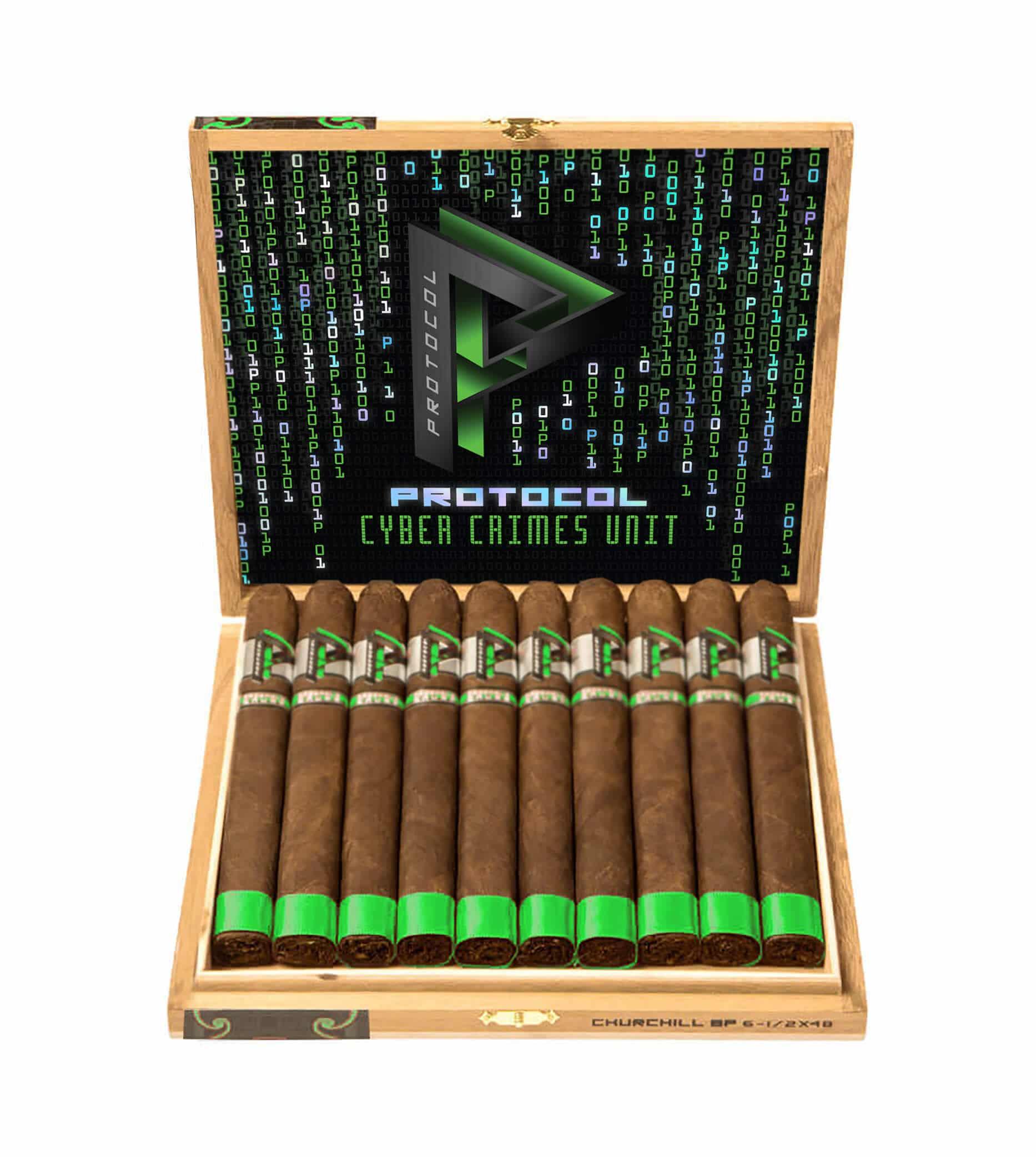 Cigar News: Protocol Cigars Unveils Latest Release: Cyber Crimes Unit (CCU)
