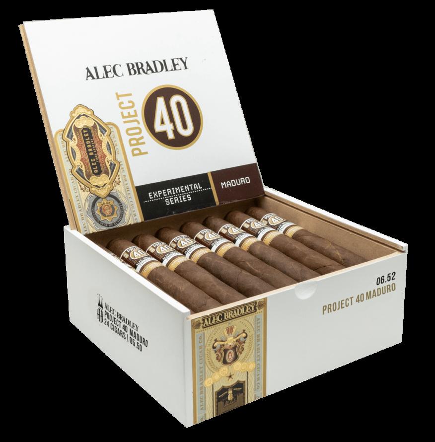 Cigar News: Alec Bradley Adds Project 40 Maduro Extension