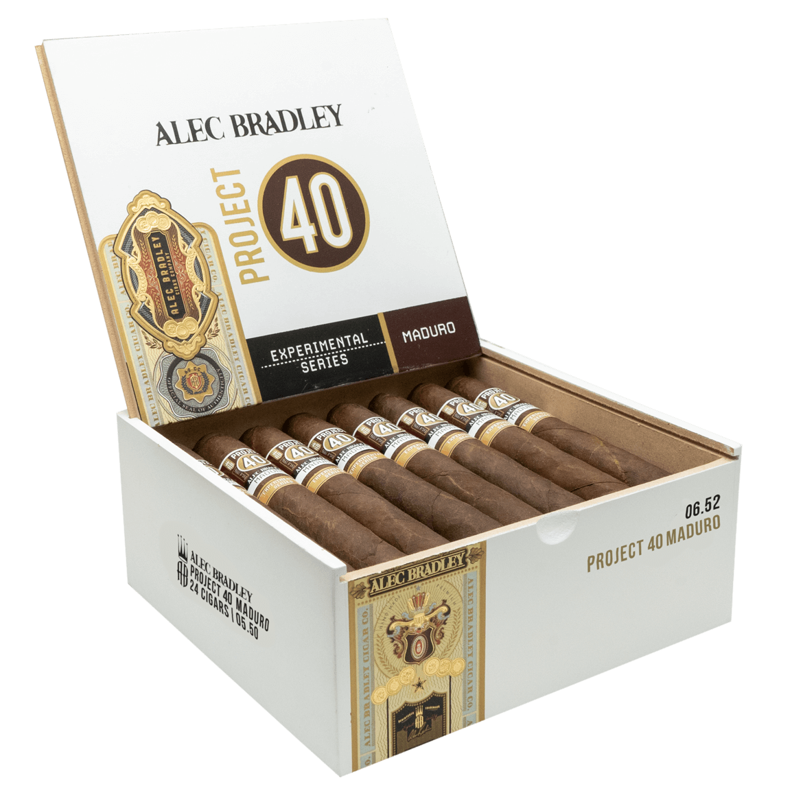 Cigar News: Alec Bradley Adds Project 40 Maduro Extension