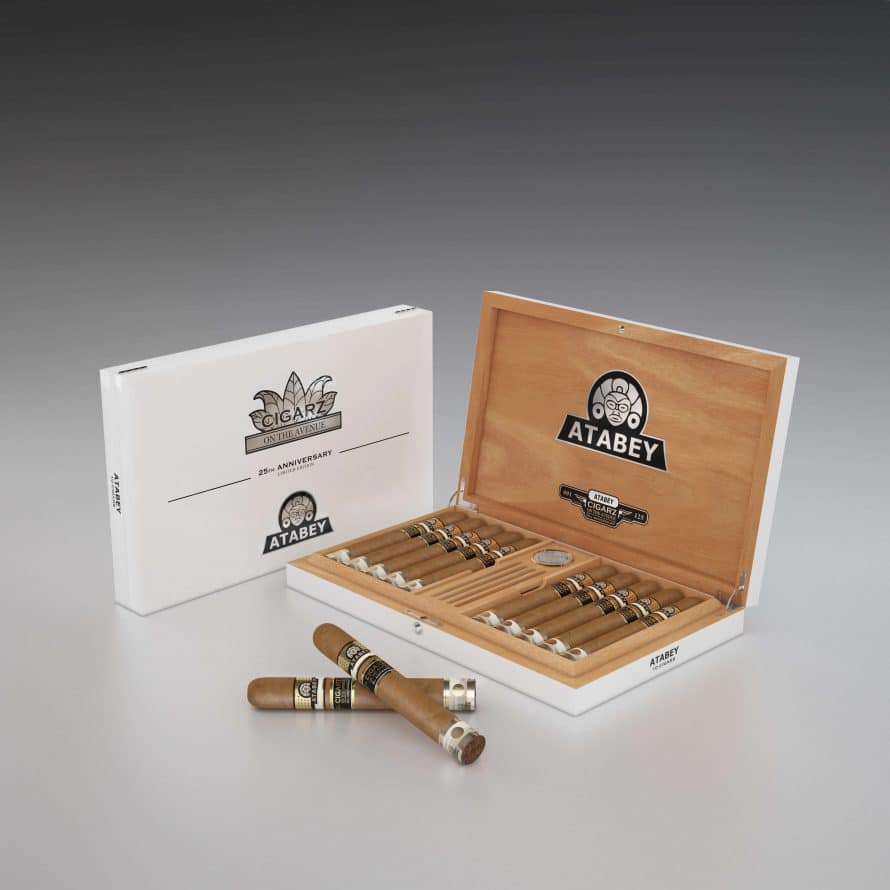 Cigar News: United Cigars Makes 25th Anniversary Humidor for Cigarz on the Ave