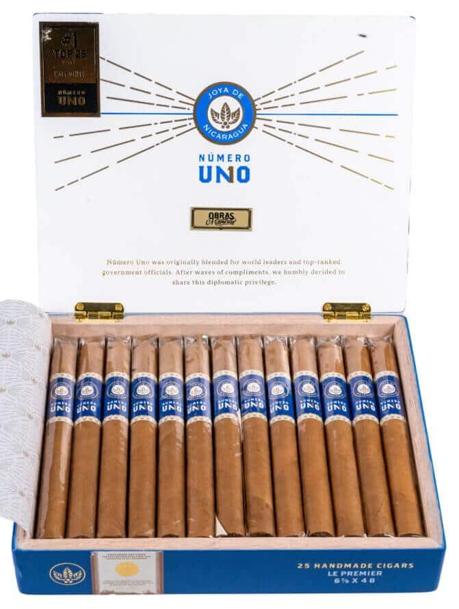 Blind Cigar Review: Joya de Nicaragua | Número Uno Le Premier