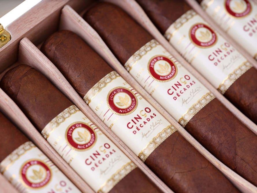 Cigar News: Joya de Nicaragua Announces Cinco Décadas El Embargo