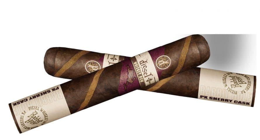 Cigar News: Diesel Announces Whiskey Row Sherry Cask Barber Pole