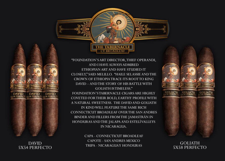 Cigar News: Foundation Announces Tabernacle David and Goliath