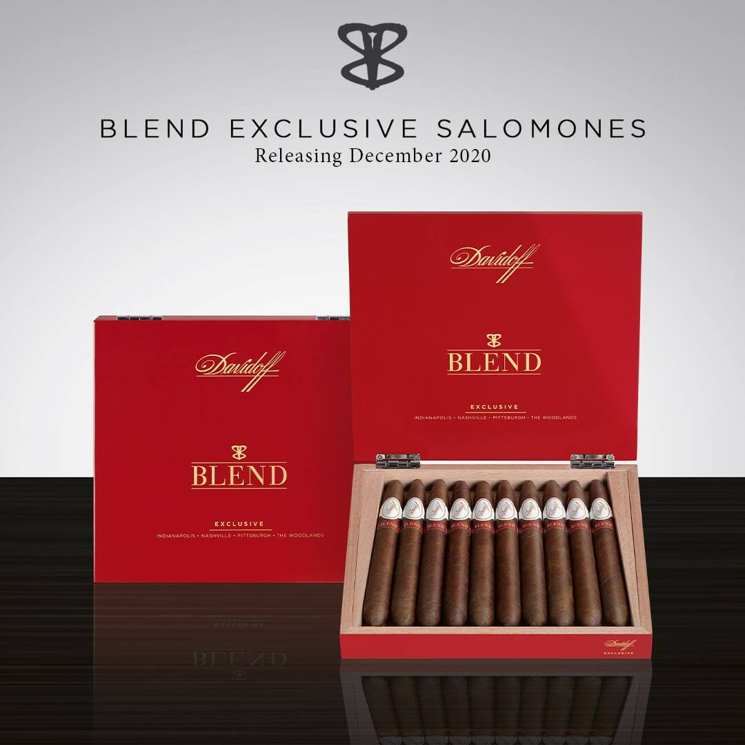 Cigar News: Davidoff Announces BLEND Bar Exclusive Cigar