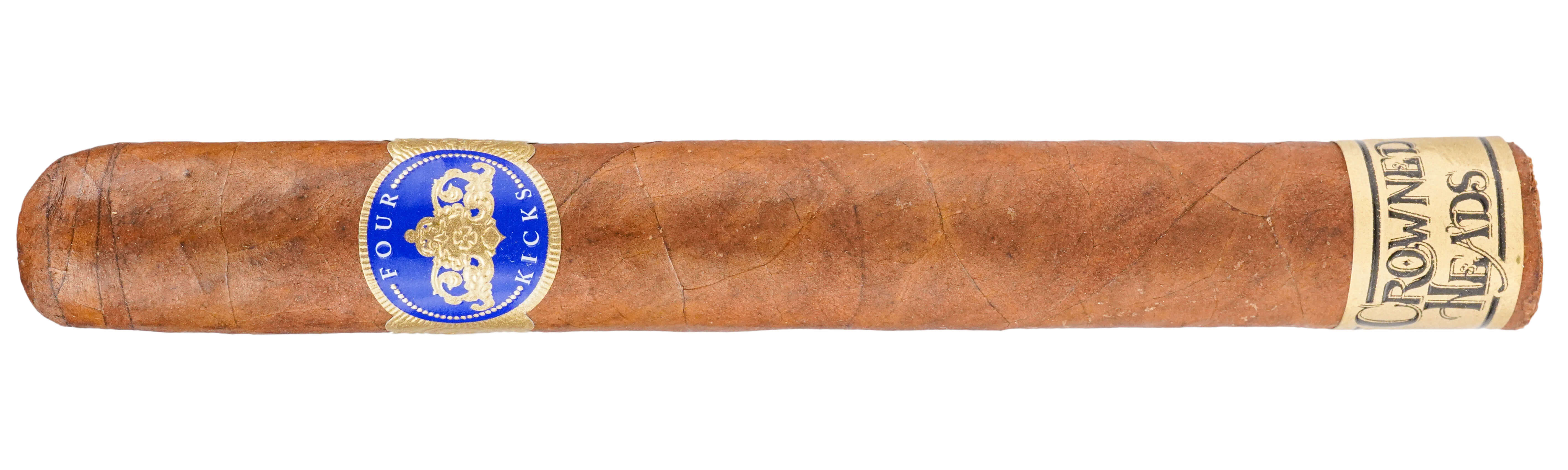 Blind Cigar Review: Crowned Heads | Four Kicks Capa Especial Corona Gorda