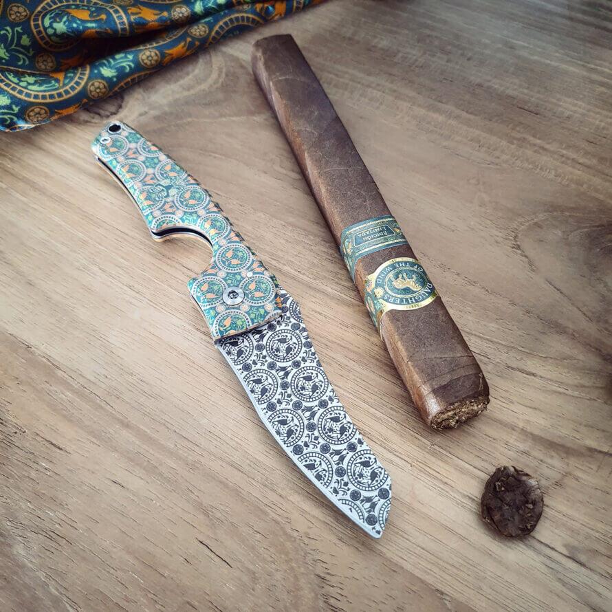 Cigar News: Casdagli Cigars Announces First Collaboration - Le PETIT Villa Casdagli Limited Edition Cigar Knife