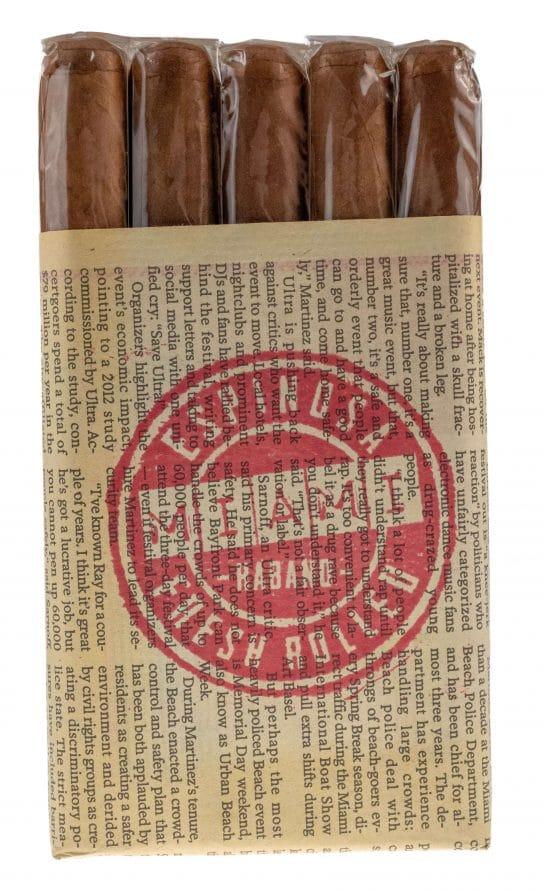 Blind Cigar Review: Espinosa | Miami Fresh Rolled Habano