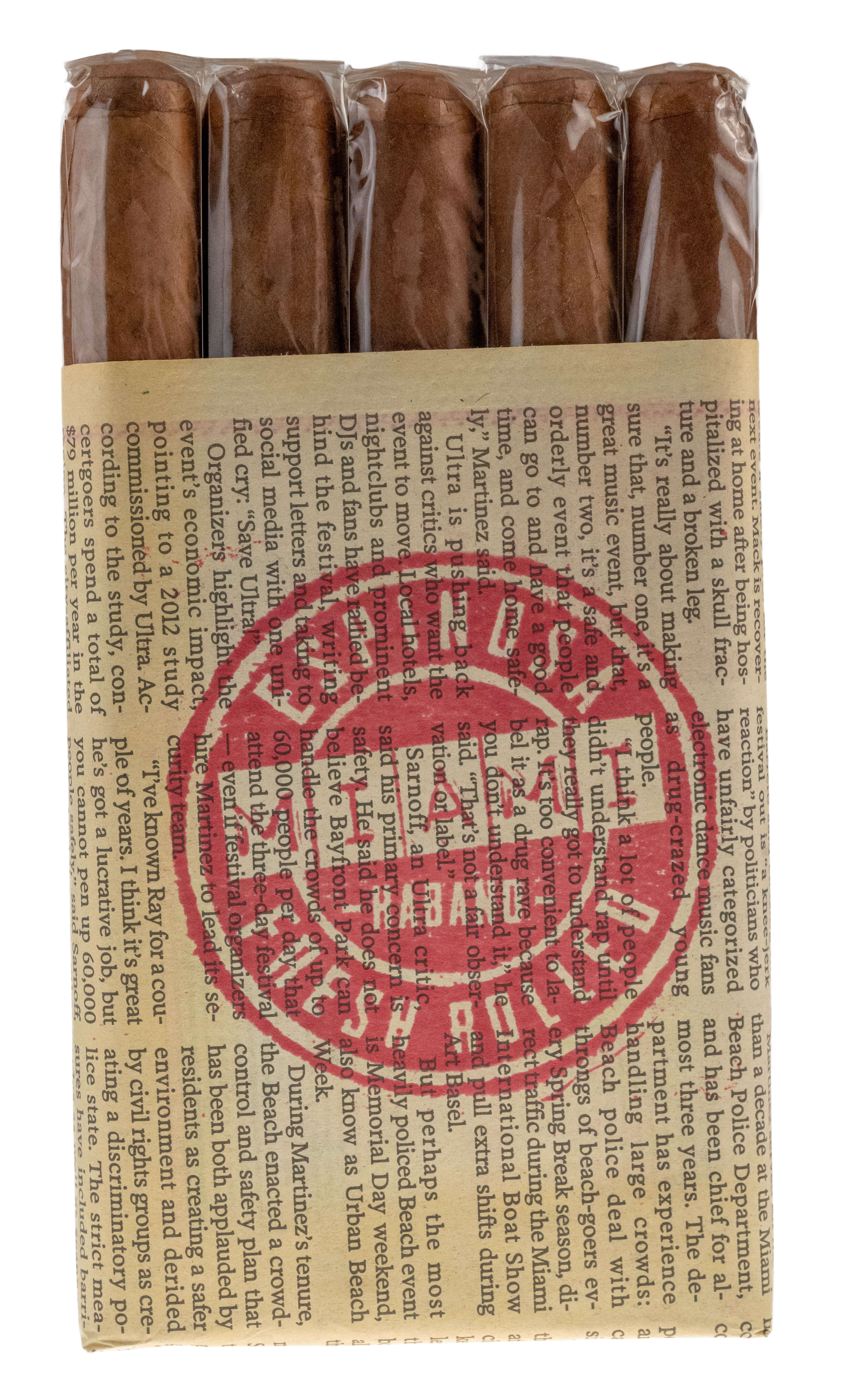 Blind Cigar Review: Espinosa | Miami Fresh Rolled Habano