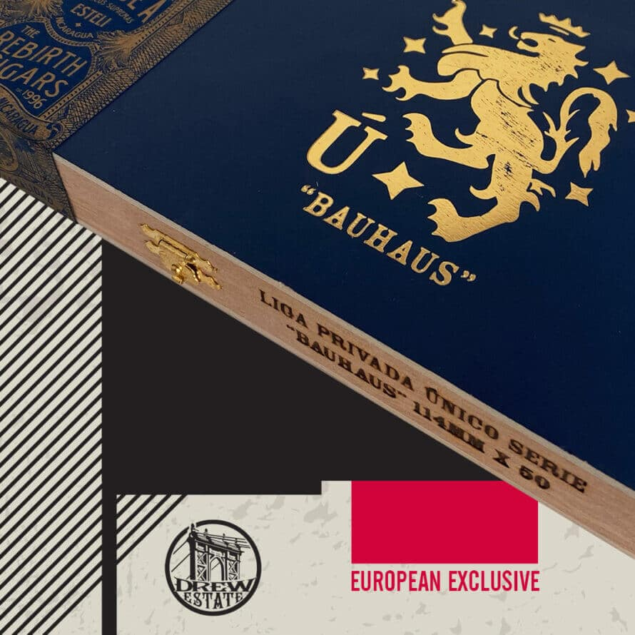 Cigar News: Drew Estate Announces European Exclusive Liga Privada Unico Serie Bauhaus